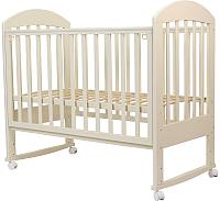 Детская кроватка Топотушки Дарина-2 / 49 (слоновая кость) -