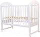 Детская кроватка Топотушки Дарина-2 / 49 (белый) -