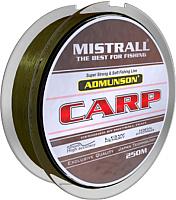 Леска плетеная Mistrall Admunson Carp 0.22мм 250м / ZM-3332022 -