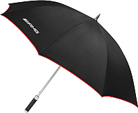 Зонт-трость Mercedes-Benz B66953677 (черный/красный) -
