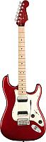 Электрогитара Fender Squier Contemporary Stratocaster HH MN Dark Metallic Red -