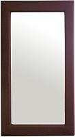 Зеркало Bravo Мебель №1 (коричневый) -