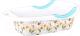 Ванночка детская Альтернатива Рыбки / М6509 (белый) -