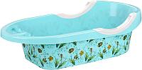 Ванночка детская Альтернатива Рыбки / М6419 (бирюзовый) -