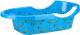 Ванночка детская Альтернатива Рыбки / М6508 (синий) -