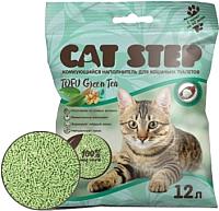 Наполнитель для туалета Cat Step Tofu Green Tea / 20333004 (12л) -