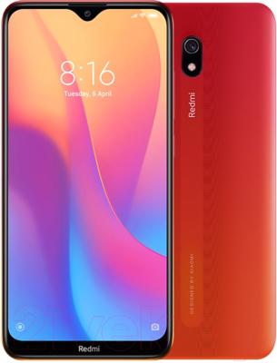 Смартфон Xiaomi Redmi 8A 2GB/32GB Sunset Red -