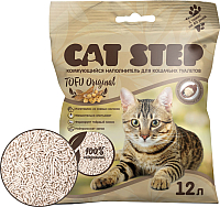 Наполнитель для туалета Cat Step Tofu Original / 20333003 (12л) -