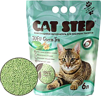 Наполнитель для туалета Cat Step Tofu Green Tea / 20333002 (6л) -