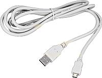 Кабель Rexant micro USB-USB-A / 18-1166 (3м, белый) -