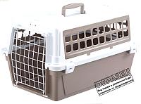 Переноска для животных Ferplast Atlas 10 Trendy v.1 / 73028099 (серый) -