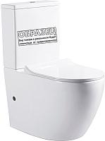 Унитаз напольный Bravat Gina CX01008UW-PA-ENG -