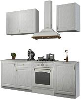 Готовая кухня Аметиста Гранд 1.5 (белый) -
