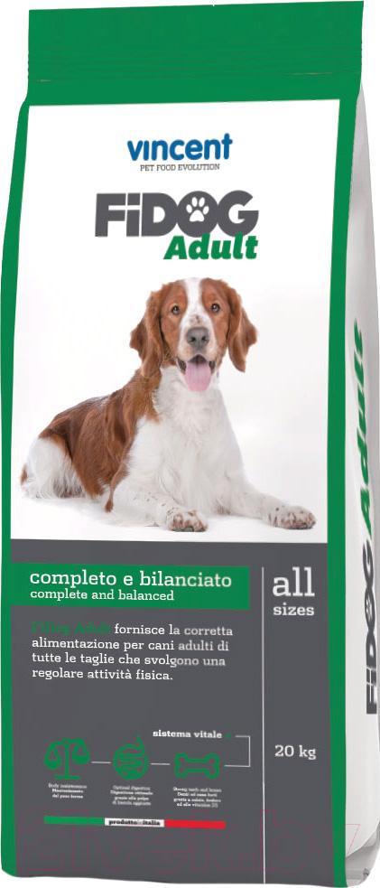 Купить Корм для собак Vincent, Fidog Adult (20кг), Италия