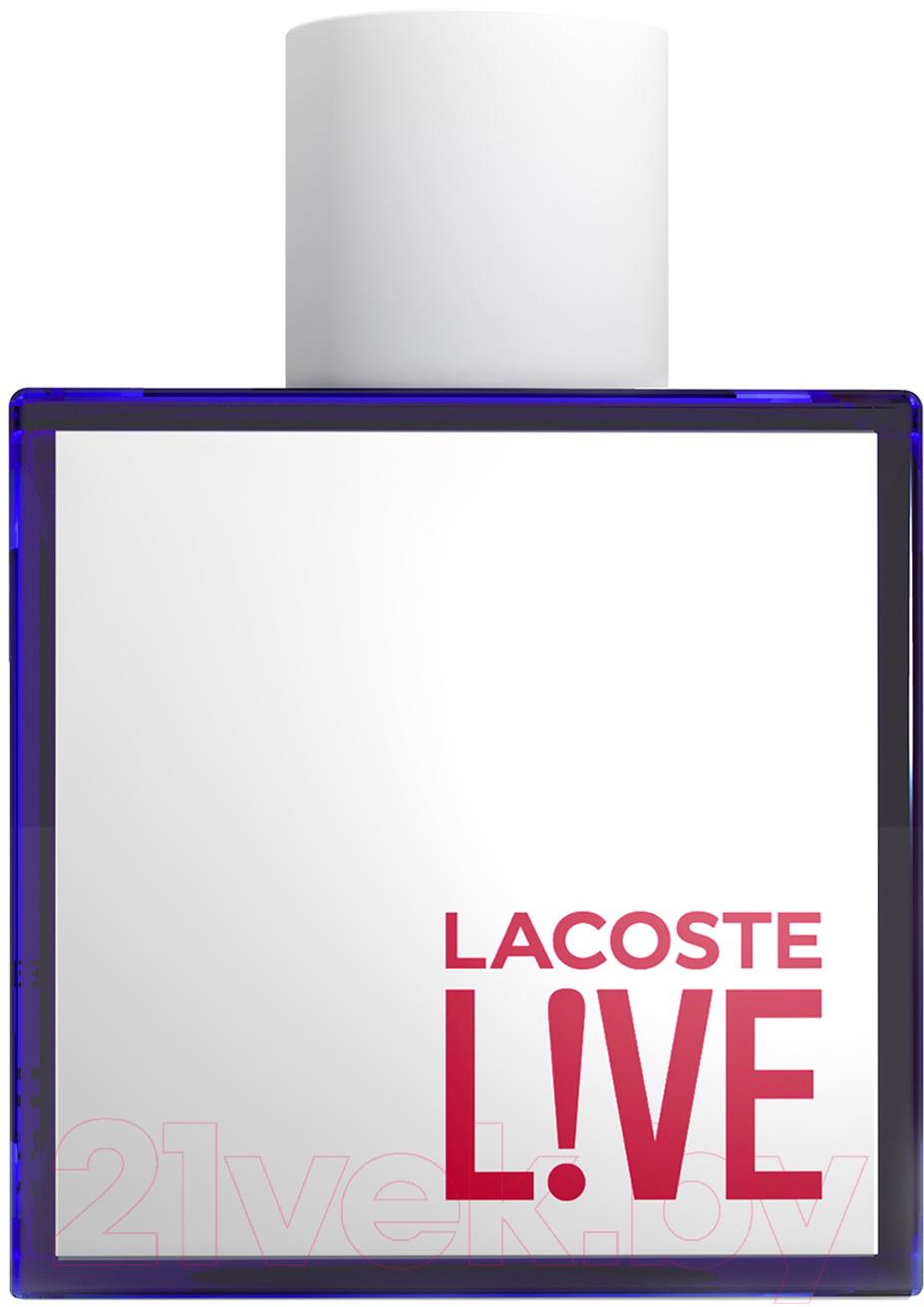 Купить Туалетная вода Lacoste, Live (100мл), Швейцария