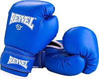 Боксерские перчатки Reyvel RV-101 / 14oz (синий) -