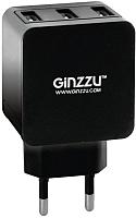 Зарядное устройство сетевое Ginzzu GA-3315UB (черный) -