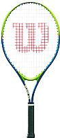 Теннисная ракетка Wilson Slam 25 для 7-8 лет / WRT20400U (салатовый/синий) -