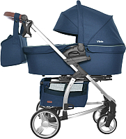 Детская универсальная коляска Carrello Vista / CRL-6501 (denim blue) -
