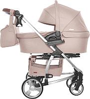 Детская универсальная коляска Carrello Vista / CRL-6501 (stone beige) -