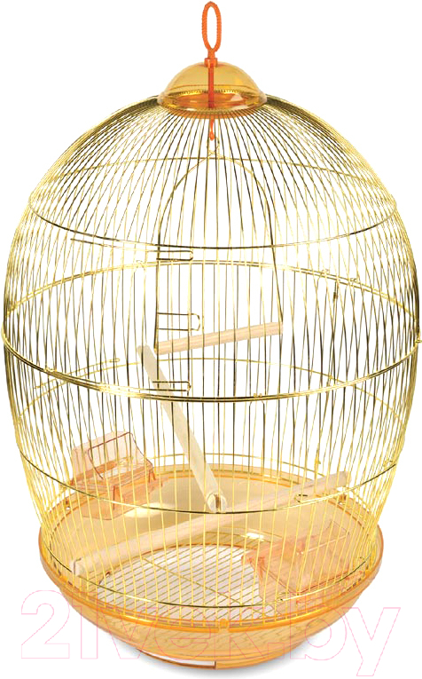 Купить Клетка для птиц Triol, 480G / 50611015, Россия, золото