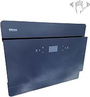 Вытяжка декоративная Backer AH60E-THSL200F / IS60MC-200FG (черное стекло) -