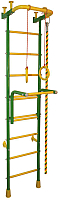 Детский спортивный комплекс Absolute Champion Альпинистик Акробат-2 (салатовый/желтый) -