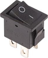 Выключатель клавишный Rexant ON-OFF Mini 36-2146 (черный) -