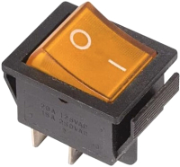 Выключатель клавишный Rexant ON-OFF 36-2333 (желтый) -