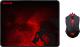Мышь+коврик Redragon M601BA / 78226 (черный) -
