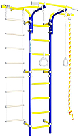 Детский спортивный комплекс Romana S6 Karusel / 01.21.8.06.410.06.00-14 (синяя слива) -