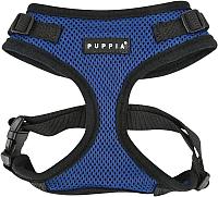 Шлея Puppia Ritefit Harness / PAJA-AC617-RB-L (синий) -