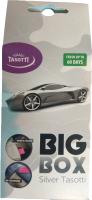 Ароматизатор автомобильный Tasotti Big Box Серебро / TS8136 -