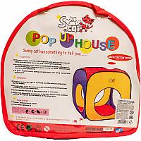 Детская игровая палатка Play Smart Домик / 3009 -