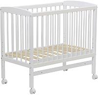 Ограждение на кровать Polini Kids Simple 100 (белый) -