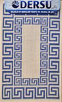 Коврик для ванной Dersu Cotton Bathmats PB019 (50x80, синий) -