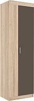 Шкаф Астрид Мебель Невада-3 / ЦРК.НВД.03 (дуб сонома/латте) -