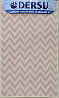 Коврик для ванной Dersu Cotton Bathmats PB022 (50x80, розовый) -
