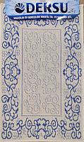 Коврик для ванной Dersu Cotton Bathmats PB001 (60x90, синий) -