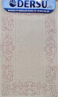 Коврик для ванной Dersu Cotton Bathmats PB001 (60x90, розовый) -