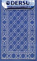 Коврик для ванной Dersu Cotton Bathmats PB013 (60x90, синий) -
