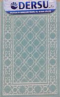 Коврик для ванной Dersu Cotton Bathmats PB013 (60x90, мятный) -