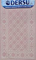 Коврик для ванной Dersu Cotton Bathmats PB013 (60x90, розовый) -
