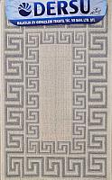 Коврик для ванной Dersu Cotton Bathmats PB019 (60x90, серый) -