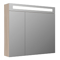 Шкаф с зеркалом для ванной Iddis Mirro MIR80N2i99 -