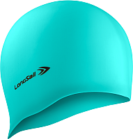 Шапочка для плавания LongSail Силикон (морская волна) -