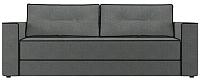 Диван Настоящая мебель Принстон рогожка (серый) -