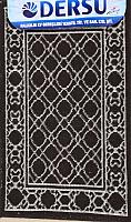Коврик для ванной Dersu Cotton Bathmats PB013 (50x80, коричневый) -
