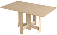 Обеденный стол Сакура Орбита (млечный дуб) -