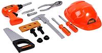 Набор инструментов игрушечный XinLeTong Строитель / 3288-B72 -